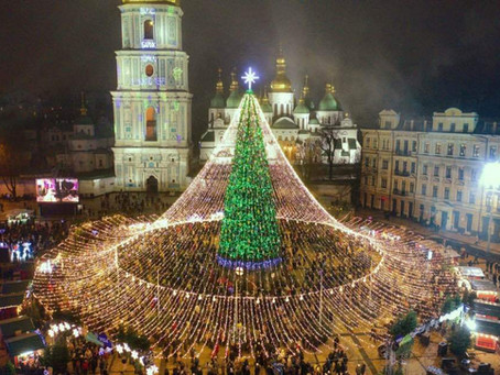 Get into the Christmas Fun in Kiev (Kyiv)