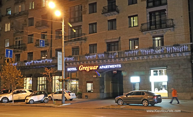 Apartments in Kiev Ukraine