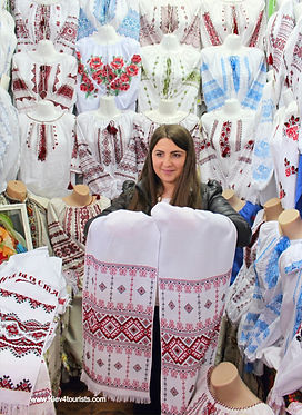 Souvenirs in Kiev