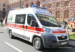 Ambulance in Kiev Ukraine