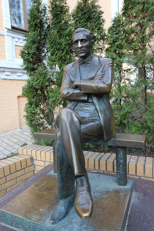 Mikhail Bulgakov Statue