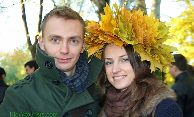 Autumn Love in Kiev