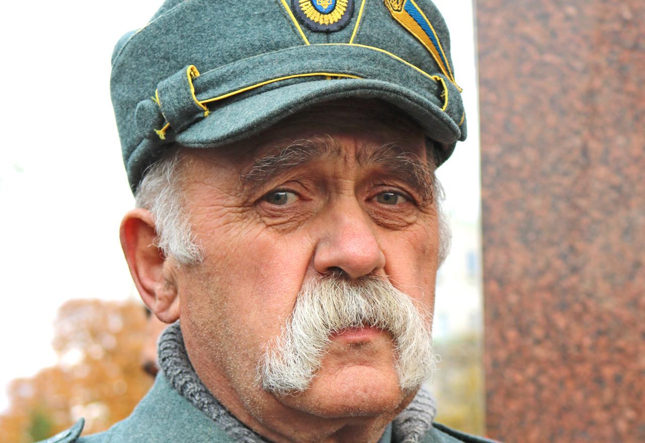 Old Ukrainian Soldier