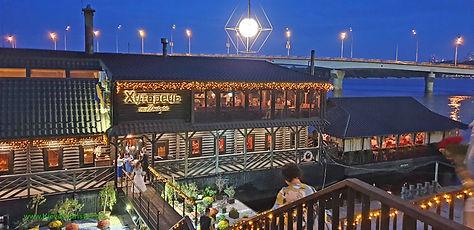 Khutorets restaurant in Kyiv