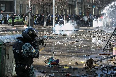 Berkut in Kiev Ukraine