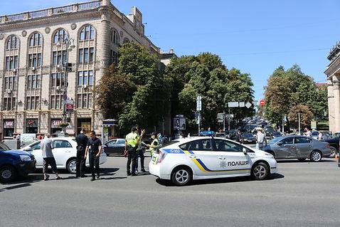Kiev Ukraine Traffic Police