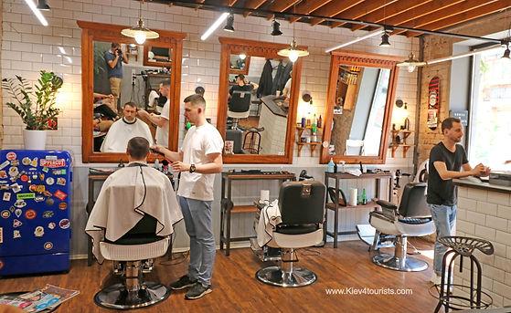 Barber Kiev Ukraine