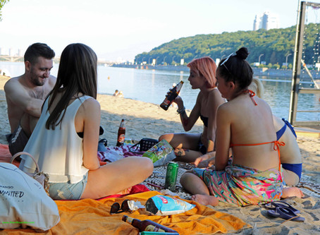 6 Best Beach Clubs in Kyiv 2019