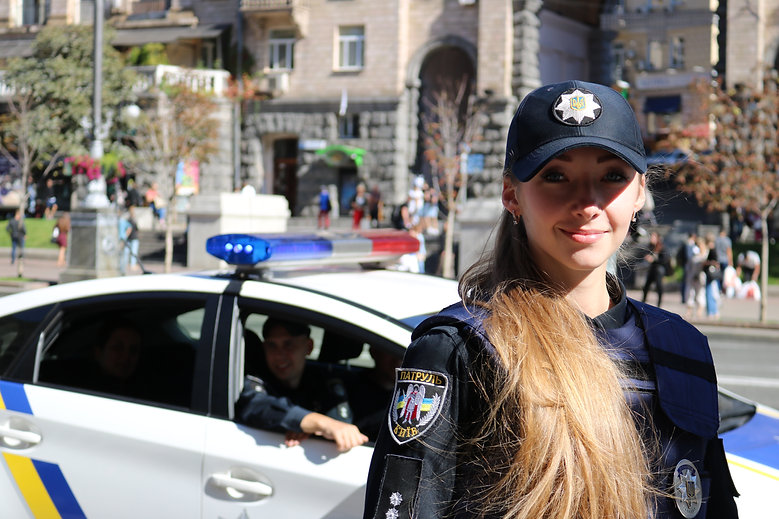 Policewoman from Kiev Ukraine