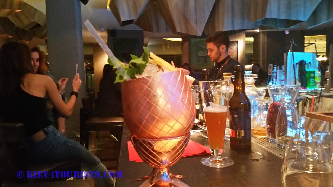 Cocktails in Kiev