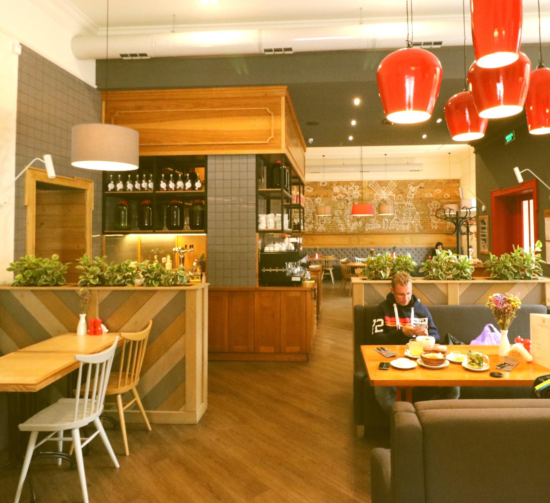 Cafe's in Kiev