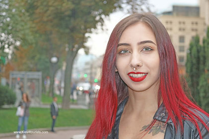 Cool girl from Kiev