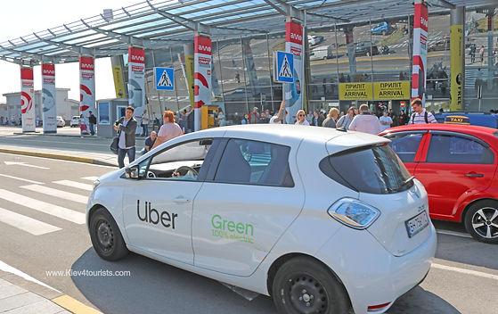 Uber in Kiev Ukraine