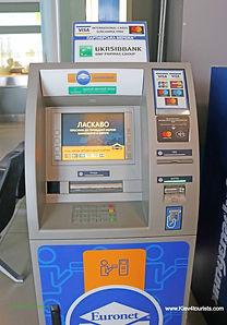 ATM in Kiev Ukraine