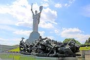 Motherland monument Kiev Ukraine