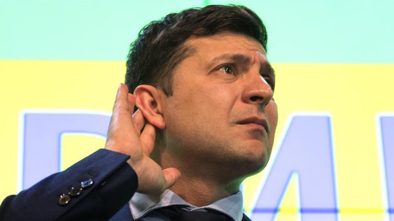 Politics in Ukraine 2019 presidential candidate Volodymyr Zelenskiy