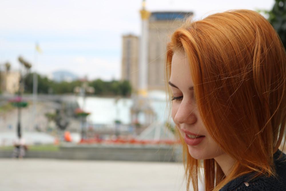 Beautiful girl in Kiev Ukraine