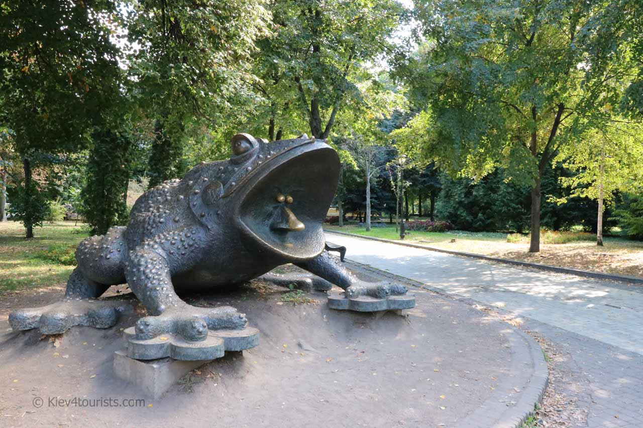 Frog Monument