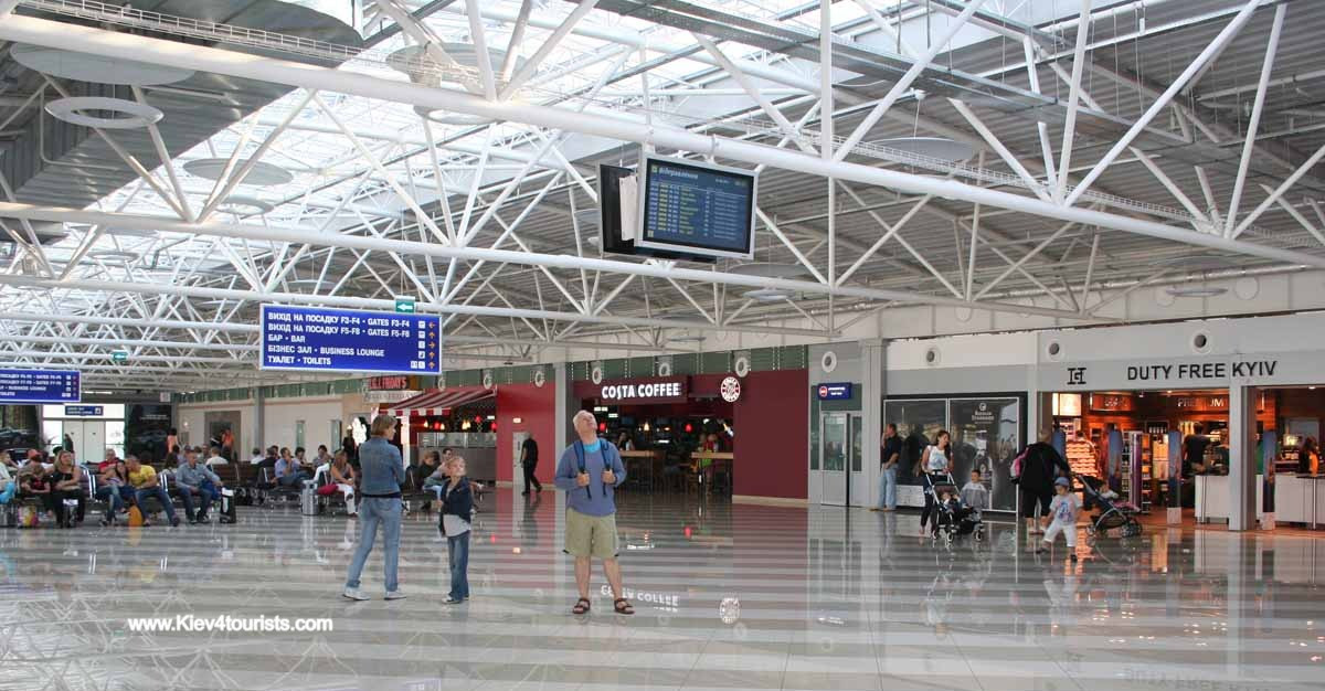 Boryspil Airport in Kiev Ukraine