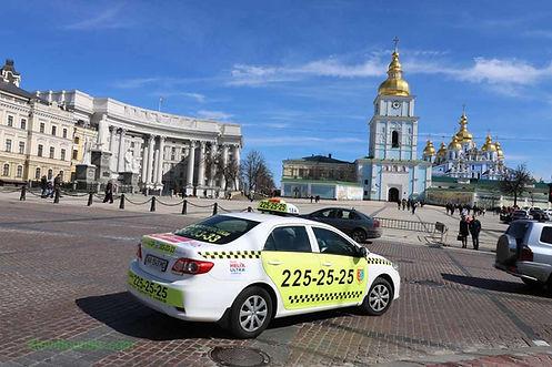 Taxi in Kiev Ukraine