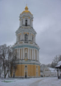 Bell Tower in Winter