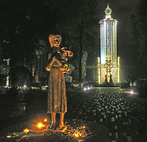 Holodomor Memorial in Kiev Ukraine