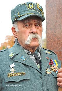 Old Ukrainian war hero