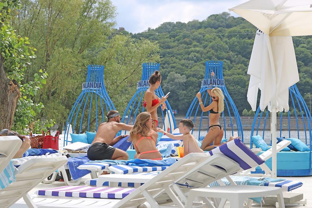 Sandali Beach Club in Kyiv Ukraine