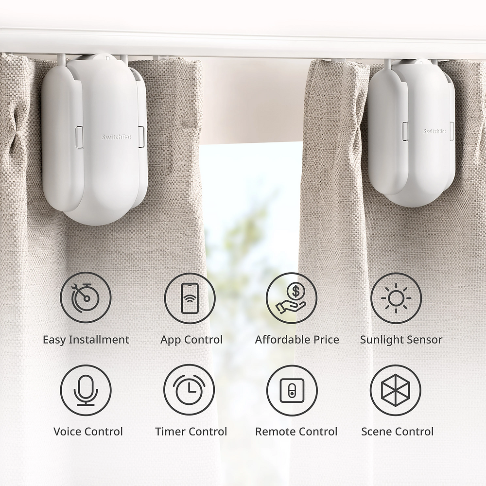 SwitchBot – Smart Curtain