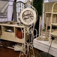Cocktail Hour Clock Stand
