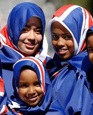 young-muslim-girls-with-australian-flag-