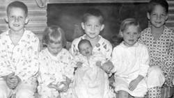 Six kids on hearth