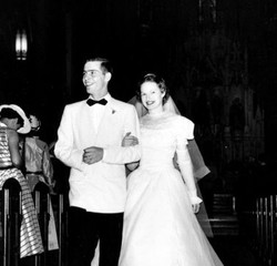 Author's parents at their wedding