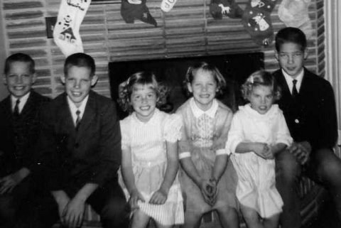 All six kids 1965