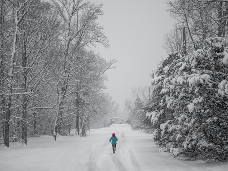 Can you run safely in the Snow? Yes, but...