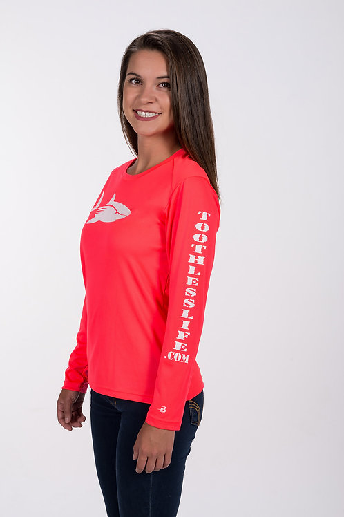 Women's Coral Toothless Life Shirt