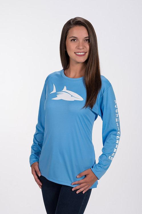 Women's Light Blue Toothless Life Shirt