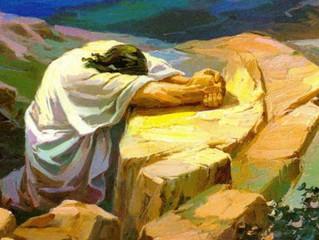 Jesus orou por mim