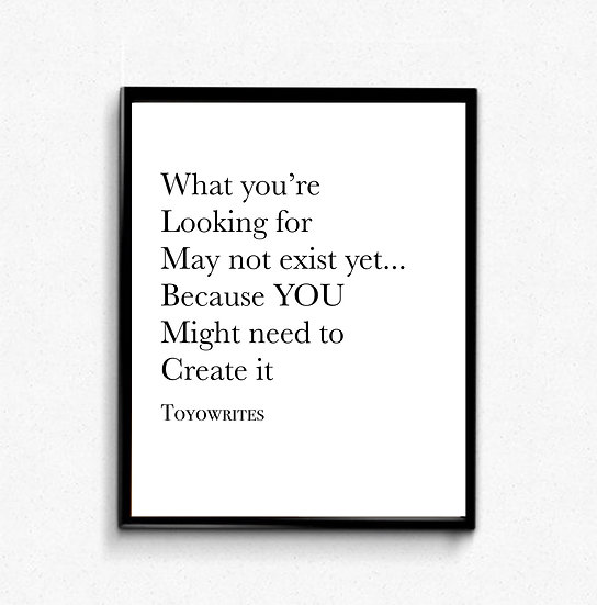Create Yours