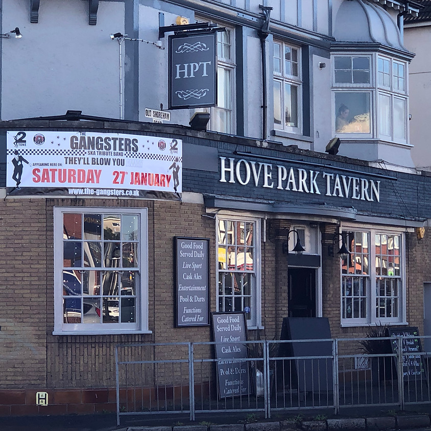 The Gangsters at The Hove Park Tavern