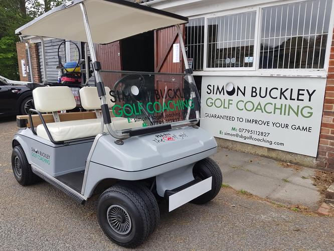 Simon Buckley Golf Buggy