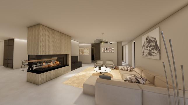 3d visualisatie in opdracht van architect Miranda De Boeck