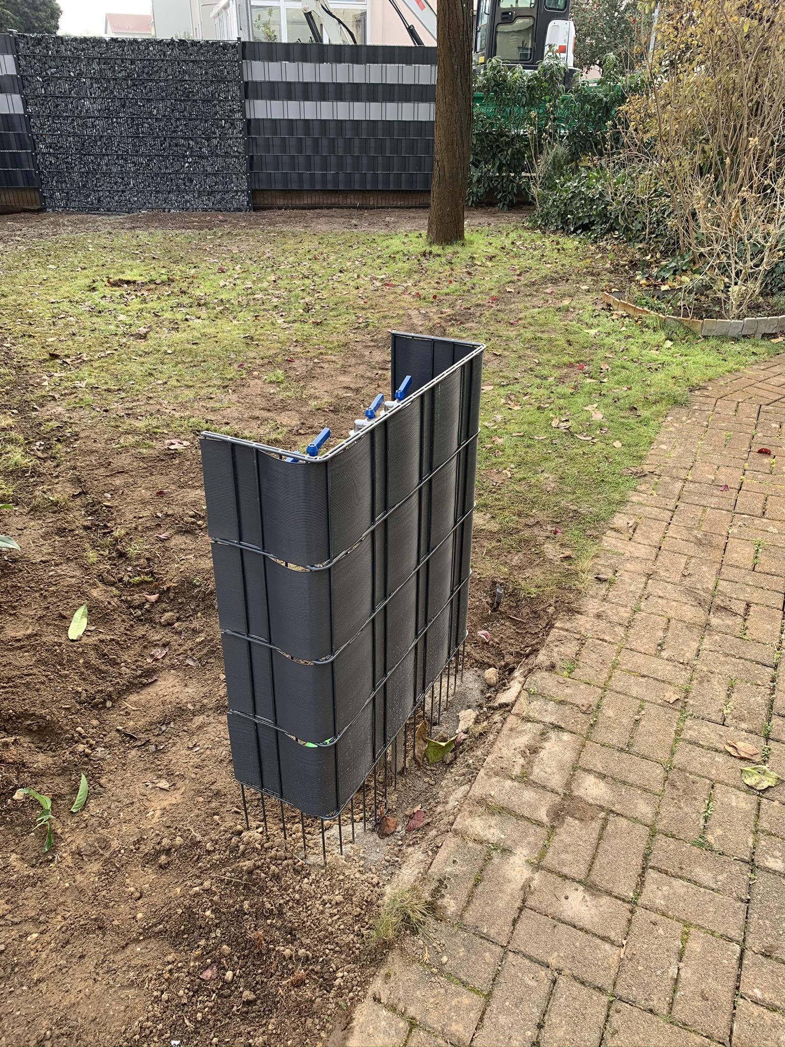 Anlegen eines Bewässerungssystem