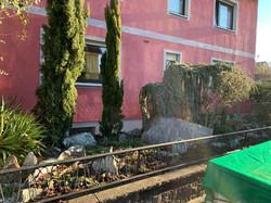 Anlage eines rustikalen Vorgartens