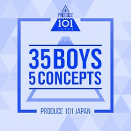 Produce 101 Japan [35 Boys 5 Concepts]