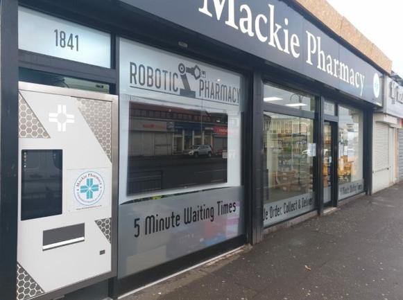 Mackie Pharmacy, Cardonald