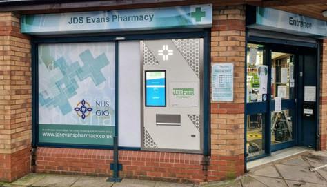 JDS Evans Pharmacy, Newport