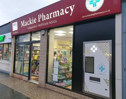 Mackie Pharmacy, Giffnock