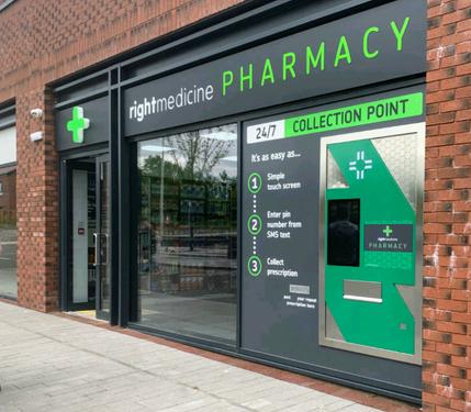 Right Medicine Pharmacy, Winchburgh