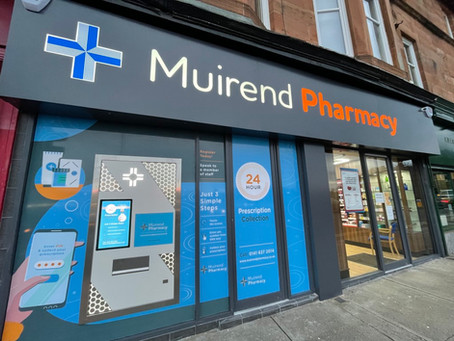 Case study: Muirend Pharmacy marks half-century for Pharmaself24